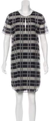 Theory Patterned Shift Dress
