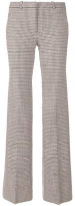 Theory houndstooth pattern trousers