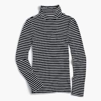J.Crew Perfect-fit turtleneck in stripe