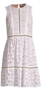 MICHAEL Michael Kors Mod Floral Lace Dress