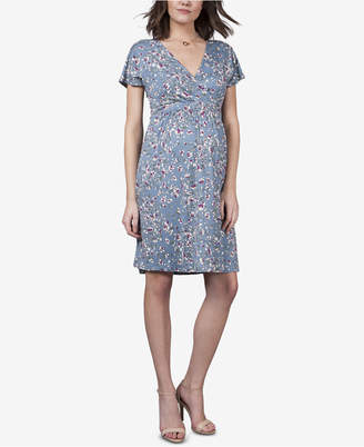 Seraphine Maternity Printed A-Line Dress