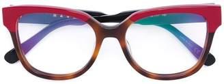 Marni Eyewear colour block optical glasses