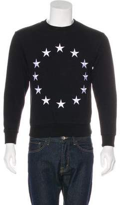 Etudes Studio Star Embroidered Pullover Sweatshirt
