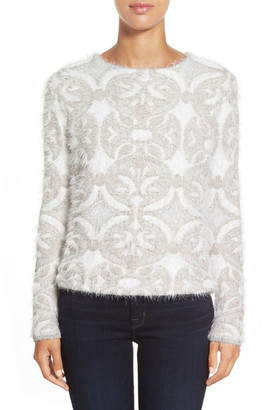 NIC+ZOE Pinnacle Reversible Pullover Sweater $188 thestylecure.com
