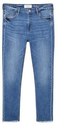 Violeta BY MANGO Slim-fit push up Mariah jeans