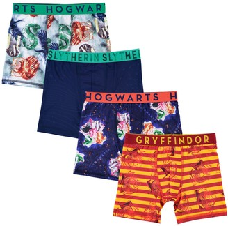 06f42c41cb Licensed Character Boys 6-10 Harry Potter 4-Pack Boxer Briefs