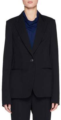 The Row Naycene One-Button Wool Jacket