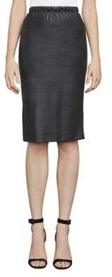 BCBGMAXAZRIA Lyric Faux Leather Pencil Skirt