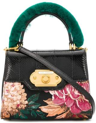 Dolce & Gabbana Welcome Hangbag In a Mix of Materials