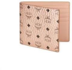 MCM Monogram Bi-Fold Wallet