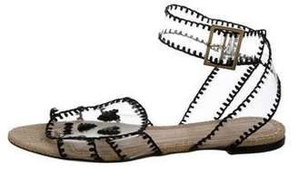 Charlotte Olympia Skull PVC Sandals