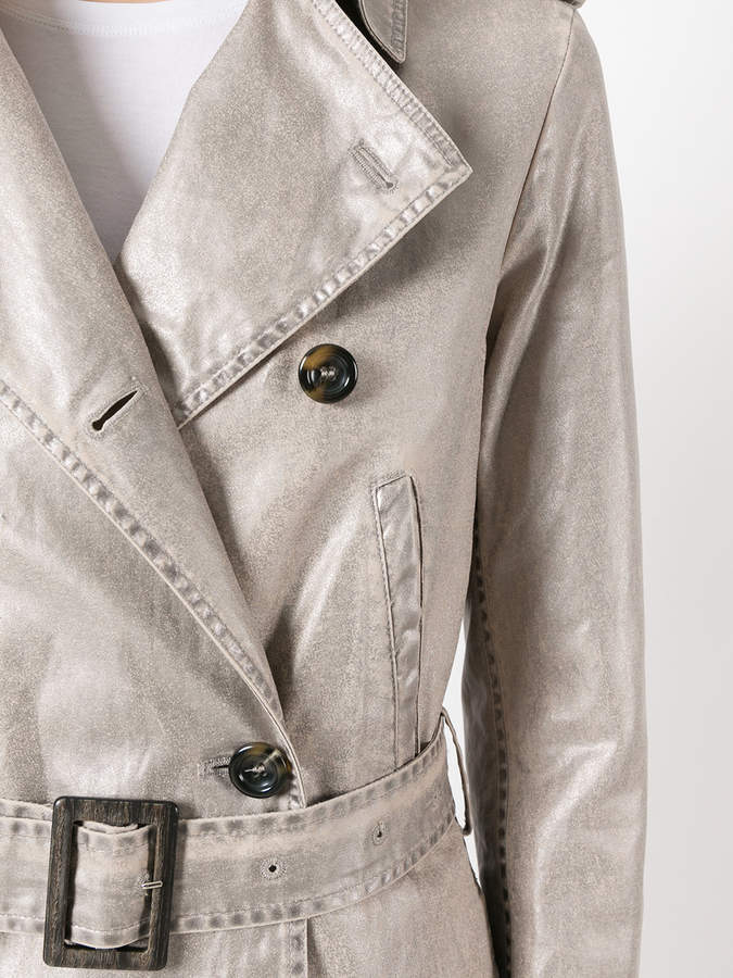 Golden Goose Deluxe Brand double-breasted trench coat