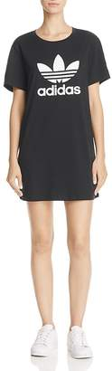 adidas Originals Trefoil T-Shirt Dress $40 thestylecure.com