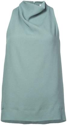 Nomia sleeveless cowl neck blouse