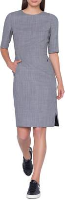 Akris Wool Blend Sheath Dress