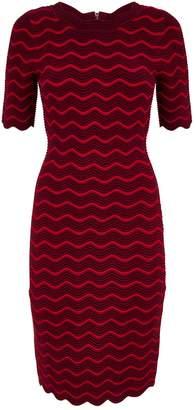 Milly Wave Bodycon Dress