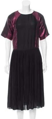 Gucci Metallic Silk Dress