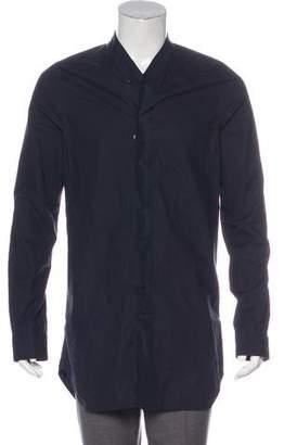 07aff06d0 Longline Button Shirt Men - ShopStyle