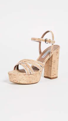 Tabitha Simmons Hensley Platform Sandal Pumps