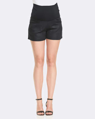 Soon Isabel Linen Shorts