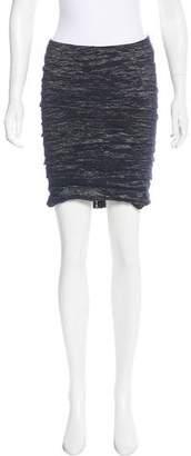 Yigal Azrouel Metallic Mini Skirt