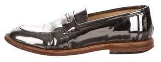 Dieppa Restrepo Metallic Leather Loafers