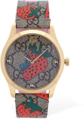 Gucci Supreme Strawberry Watch