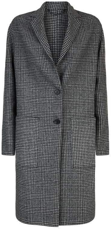 Anya Check Coat