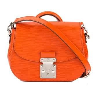 Louis Vuitton Eden Orange Leather Handbag