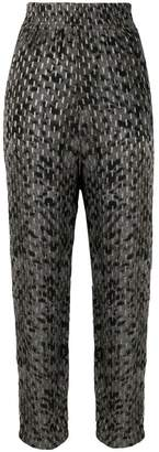 IRO printed high rise trousers