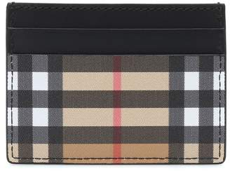 Burberry Sandon leather card holder