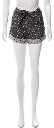 ALICE by Temperley Silk Mid-Rise Shorts