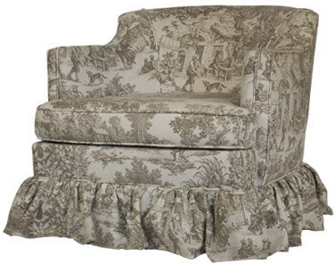 Vintage Toile Chair