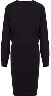 Theory Silk-Blend Mini Dress