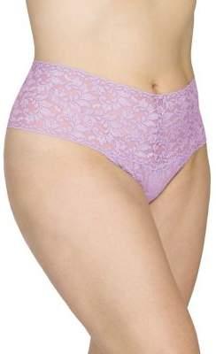 Hanky Panky Plus Retro Lace High-Waisted Thong