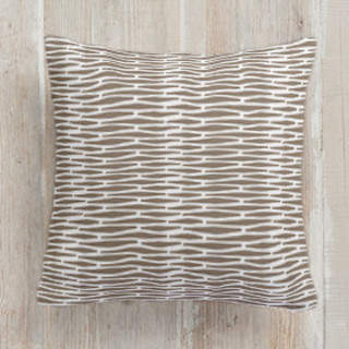 Seafarer Weave Self-Launch Square Pillows