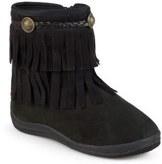 JOURNEE KIDS Journee Anza Girls Little Kids Riding Boots Flat Heel Zip