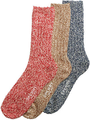 Sperry Men 3-Pk. Socks