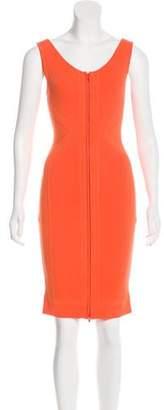 Ohne Titel Rib Knit Knee-Length Dress