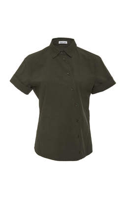 Tomas Maier Sporty Popline Short Sleeve Shirt