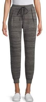 Halston H Space Dye Drawstring Jogger Pants