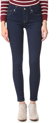 7 For All Mankind The Skinny b(air) Jeans $169 thestylecure.com