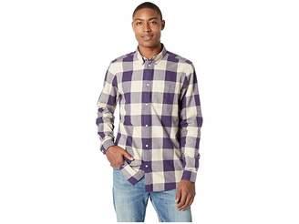 Wesc Olavi Plaid Long Sleeve Shirt