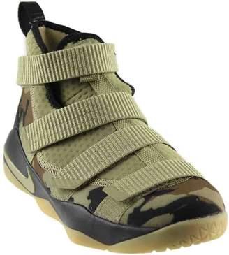 Nike Kids' Grade School Lebron Soldier XI Basketball Shoes (6.5, Camo-M)