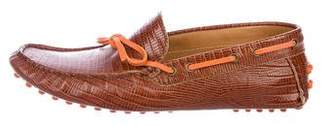 Etro Embossed Driving Loafers