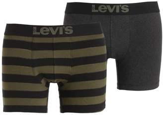 2 Pack Stripes & Solid Boxer Briefs