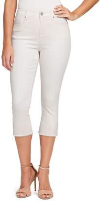 Gloria Vanderbilt Women's Jessa Frayed Capris Jeans