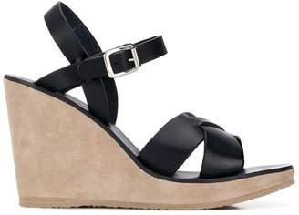 A.P.C. Juliette wedge sandals