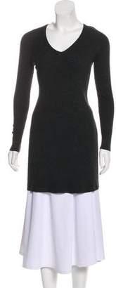Theyskens' Theory Long Sleeve Knit Dress