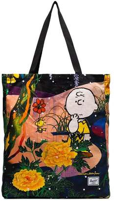 Herschel multicoloured Charlie Brown floral print tote